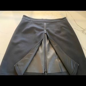 Bailey 44 double zip pointe knit skirt